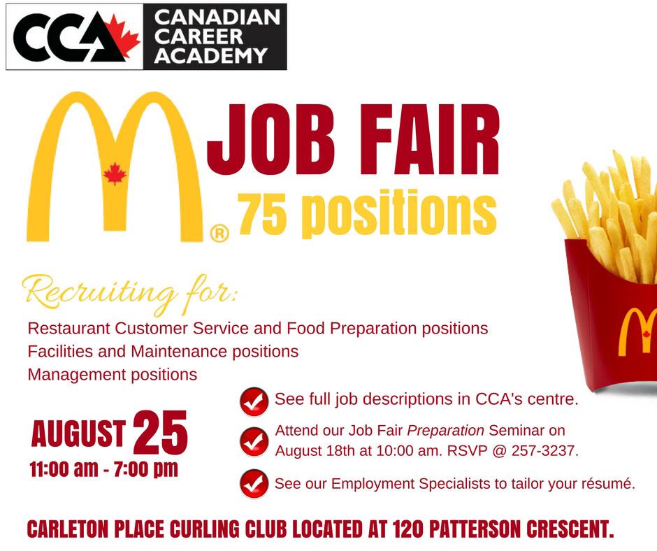Fast Food Job Hiring