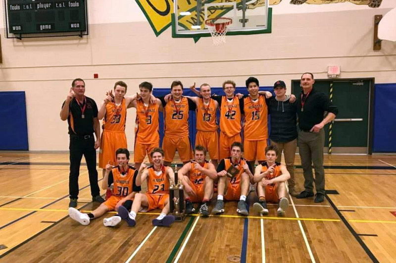 ADHS basketball team headed to provincial championships