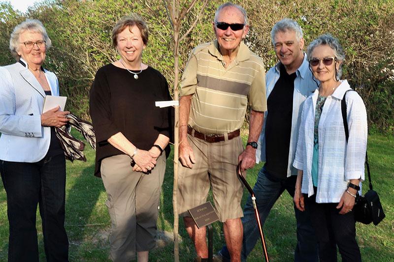 Honouring Al Potvin, 8,000 trees later