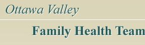 Ottawa Valley Family Health Team logo