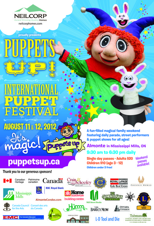 Puppets Up Poster 2012