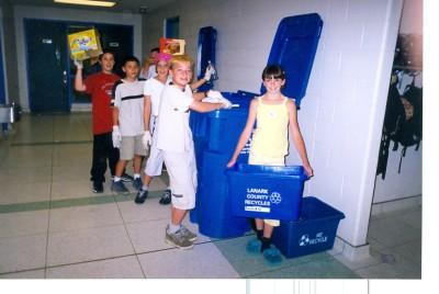 Room 22 Recycle Program 1999-2000