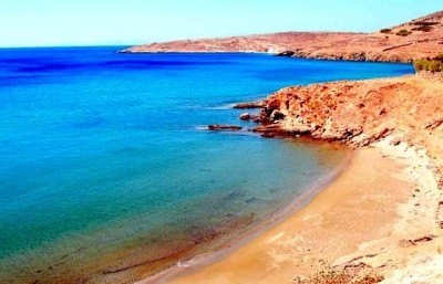 Beach at Tinos
