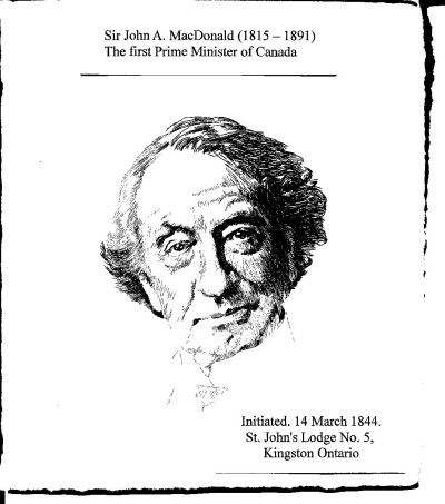 Sir John A. Mac Donald