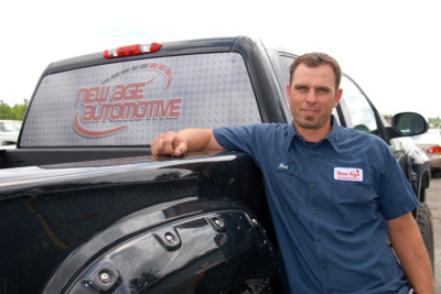Rod Robillard of New Age Automotive in Almonte was a tournament sponsor.
