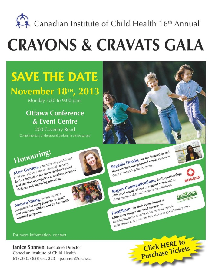 CICH Gala Save Date Poster