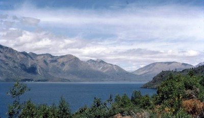 Looking towards the west end of Lake Wakatipu