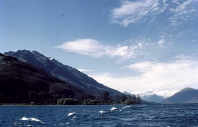 At the end of Lake Wakatipu