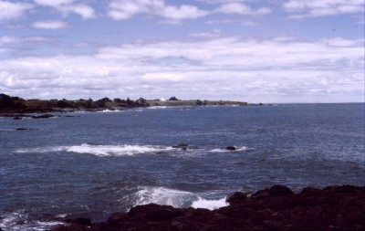The coast near Invercargill