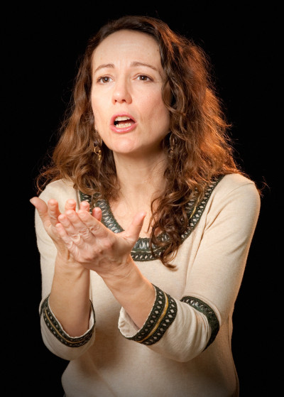 Stephanie Beneteau, sstoryteller conteuse