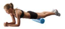 Figure on yoga mat
