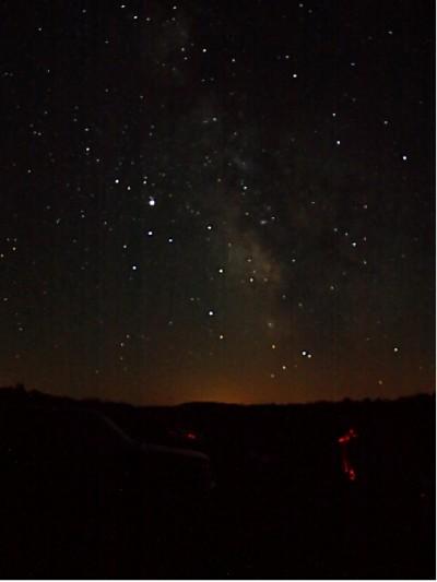 brightStarsMilkyWay