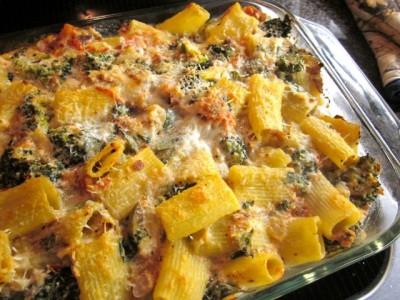 rigatoni with broccoli
