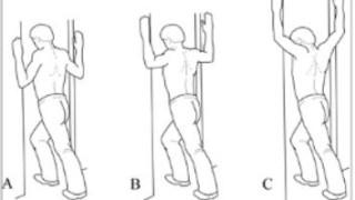 Golf shoulder exercises