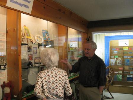 North Lanark Regional Museum Toy exhibit
