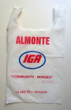 The IGA store in Almonte was downtown at 14 Mill Street, where the Heritage Court building is now. This address has been the site of more than half a dozen stores over the years.