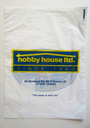 Hobby House is still on Montreal Road in Ottawa, but no longer operating a retail outlet on O'Connor Street.
