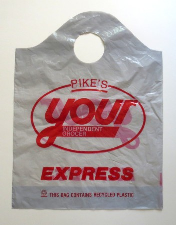 At one time there was a separate bag for the express checkout.