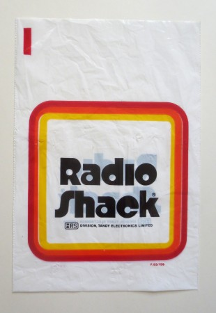 Some years ago a colorful birds-eye poster map was created of the downtown business district in Almonte. Radio Shack, located up the street a ways from the Pro Hardware store, was one of the stores on Mill Street.