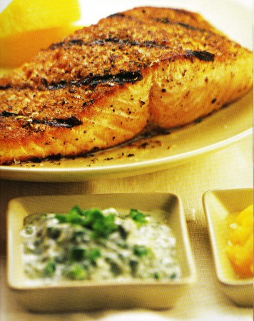 Broiled Salmon 001