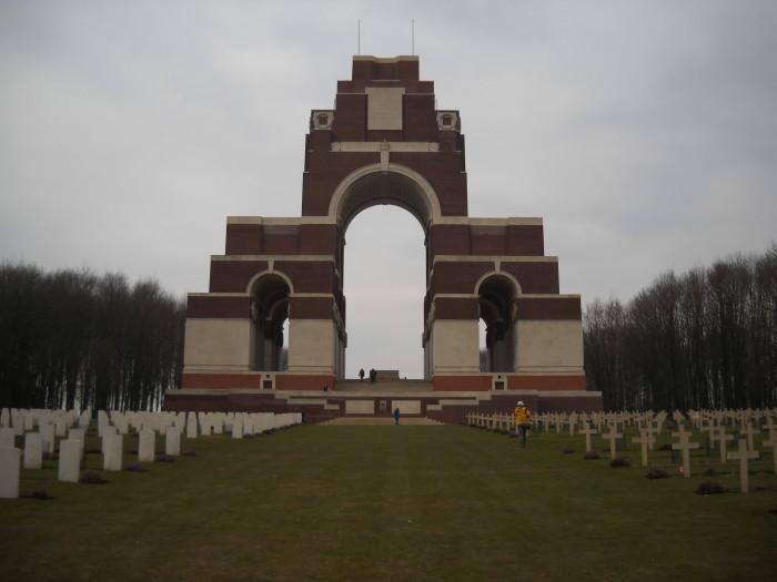 Thiepvale memorial