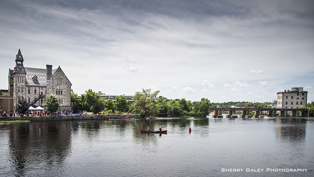 Mississippi River at Almonte - Sherry Galey