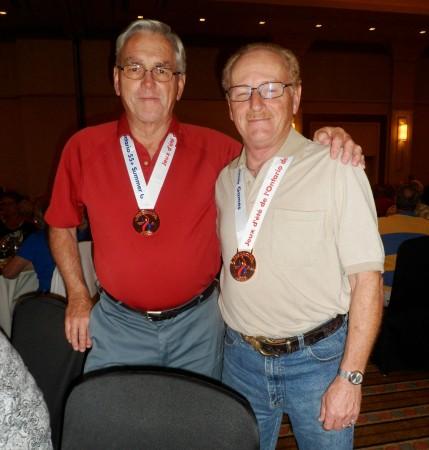 Ivor Morris & Doral Munro-Bronze medals for Darts