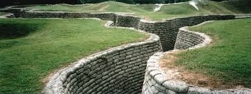 Vimy trenches reconstructed
