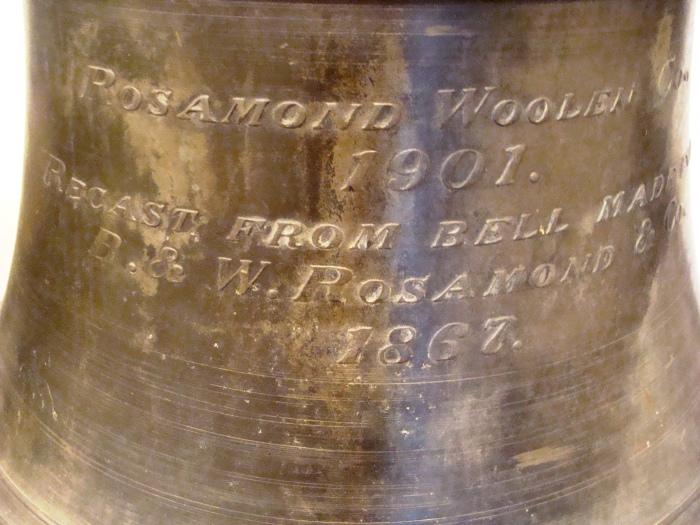 Confederate Bell - closeup