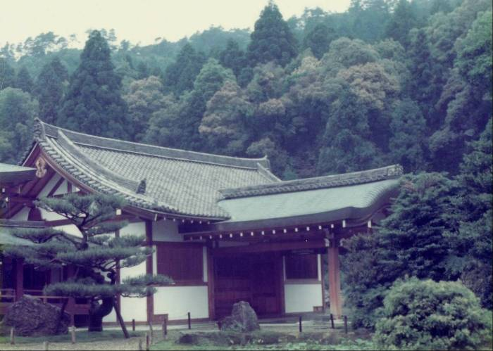 Japanese temples are always so lovely and so clean.