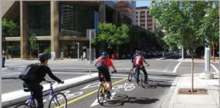 Complete Streets bicycle riders