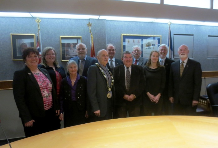 Council Swearing In 5 December 2 2014