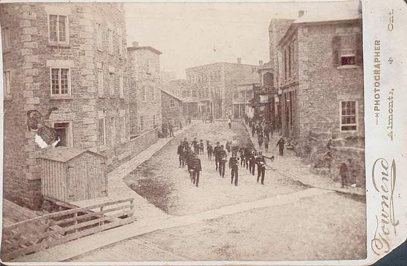 Street Trees Lower Mill Street circa 1910