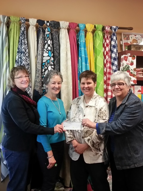 HHPC donation from Peche and Poivre March 21 2015