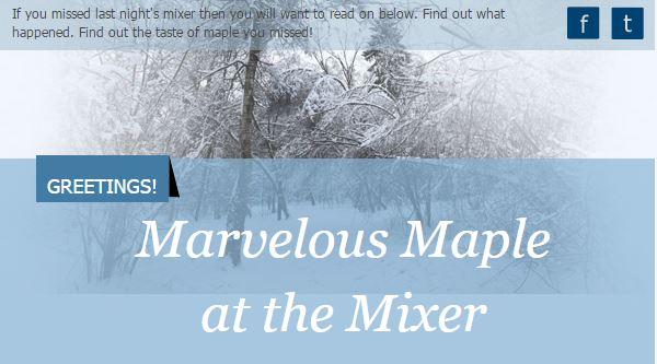 Maple Mixer