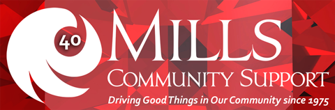 Mills Community Support Logo