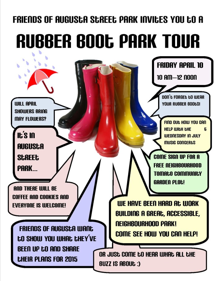 Rubber Boot Poster