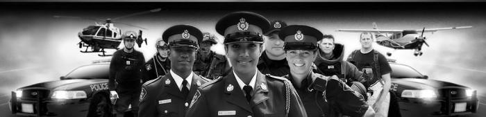 OPP police banner - logo