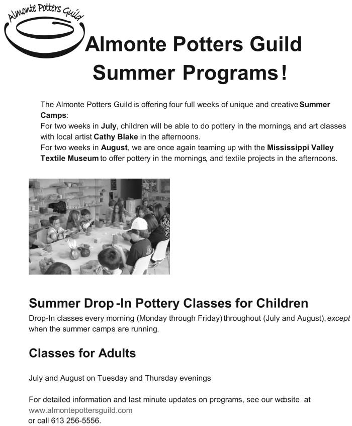 APG poster Summer 2015