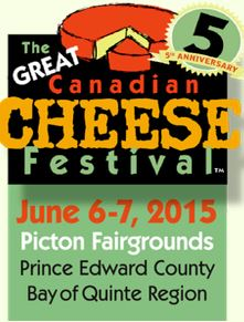 Great Canadian Cheese Festival logo