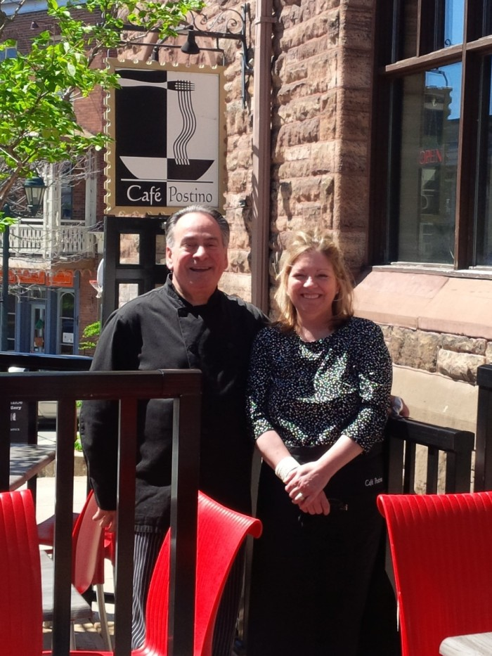Postino Owners Claire and Steve Falsetto