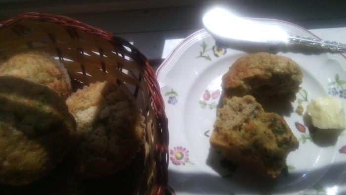 Zucchini-Carrol Muffins