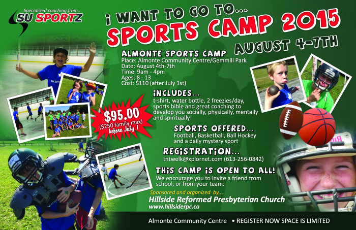 Sports Camp Poster