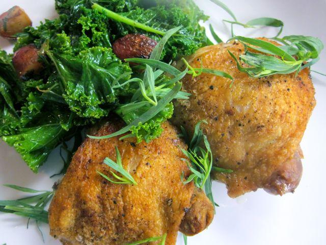 vinegar marinated chicken