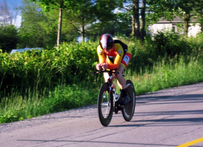 Mike Nash - cycling in Almonte - time trial