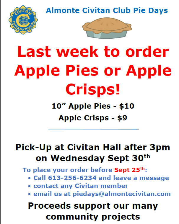 Civitan-Pie