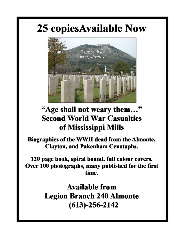 Age shall not weary them... Poster- Available Now