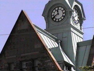 Almonte clock tower - old post office
