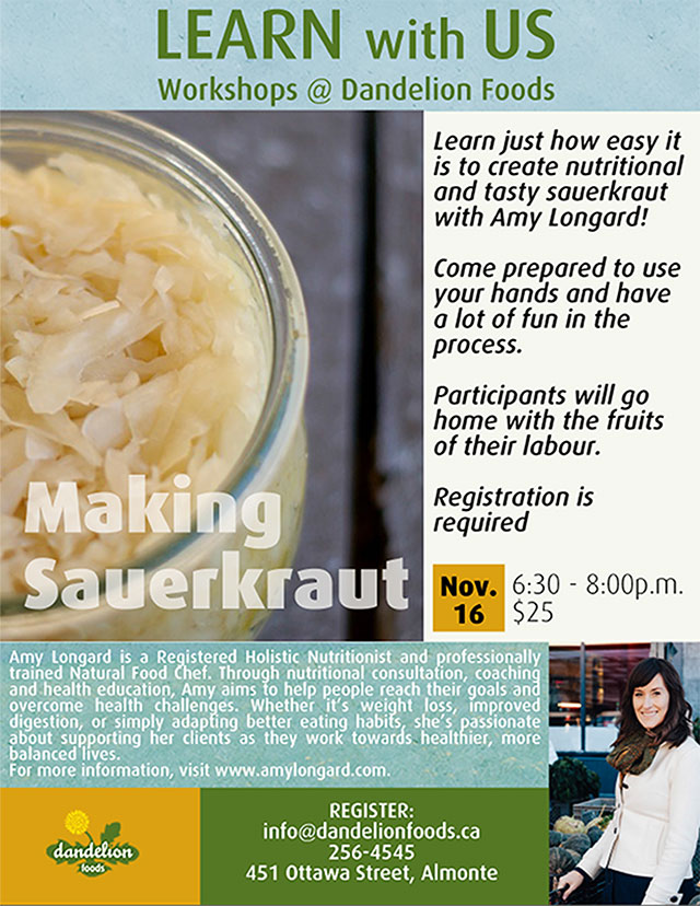 Get Cultured Sauerkraut 101 The Millstone