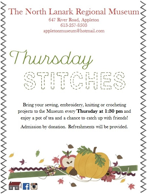 Thursday Stitches